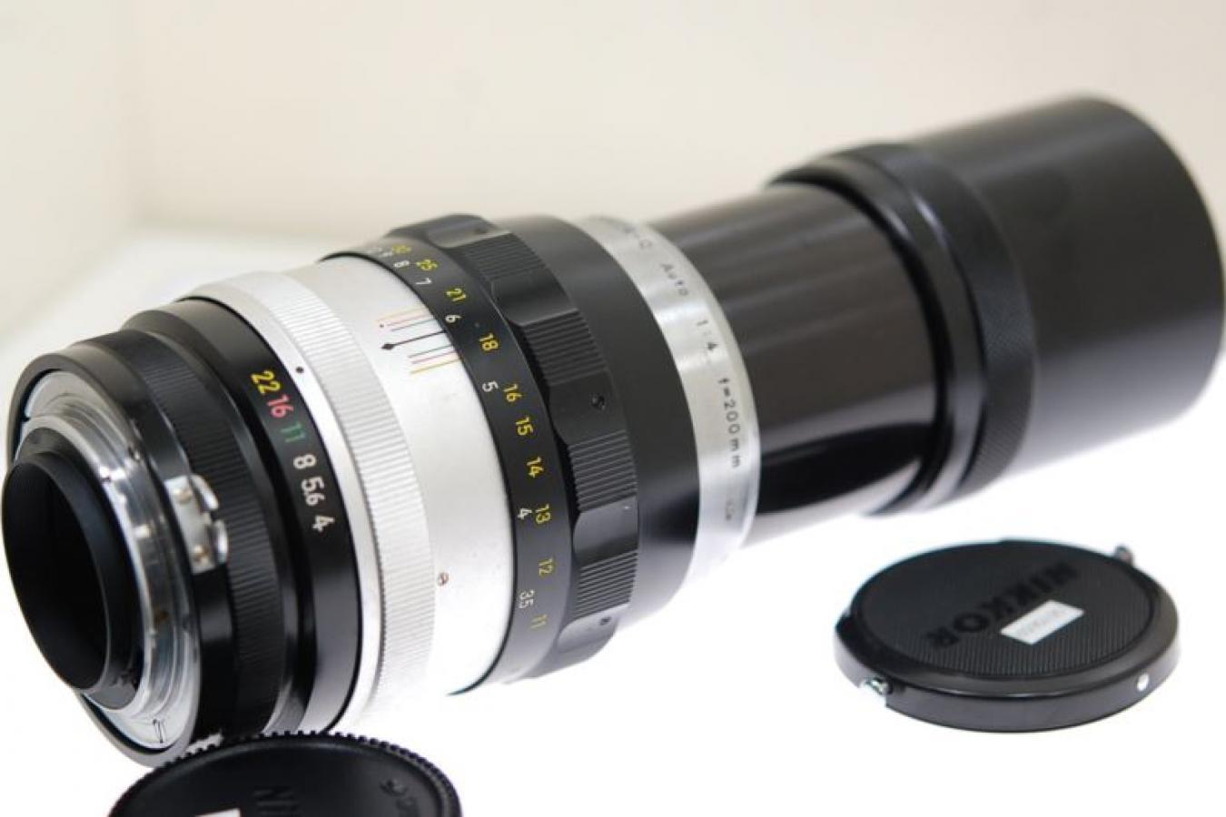 日本光学 NIKKOR-Q Auto 200mm F4