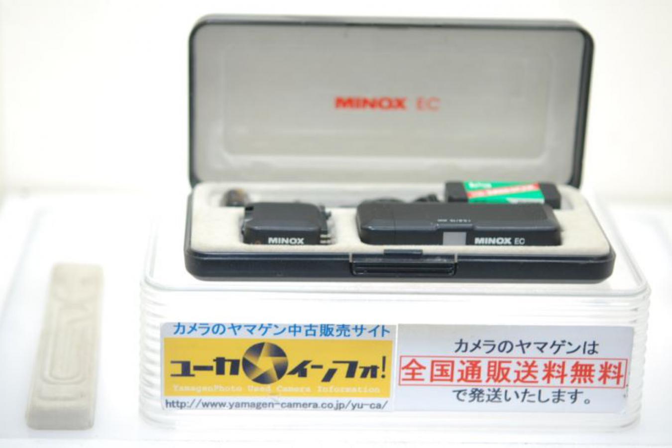 MINOX EC 【テストフィルム、バッテリー、ストラップ、化粧箱付】