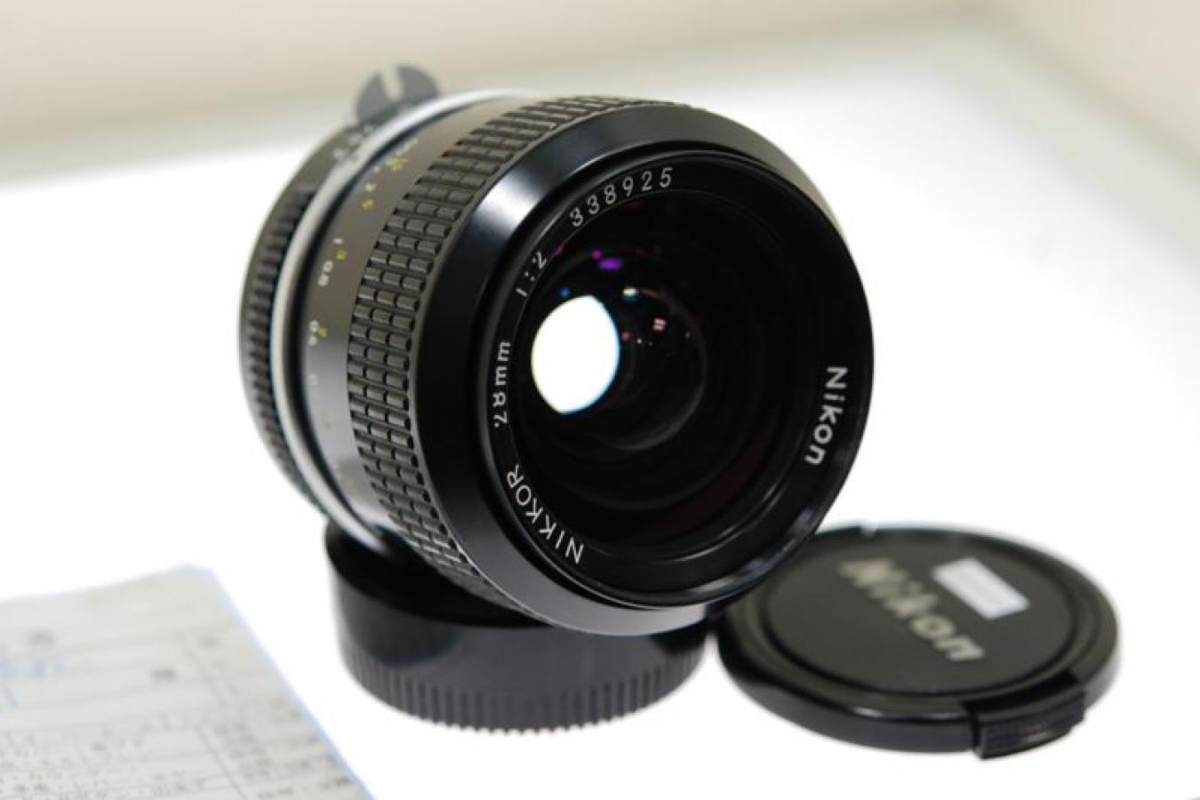 NEW NIKKOR 28mm F2 【整備済】