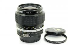 Ai-S NIKKOR 35mm F1.4 【純正52mmL39フィルター付】