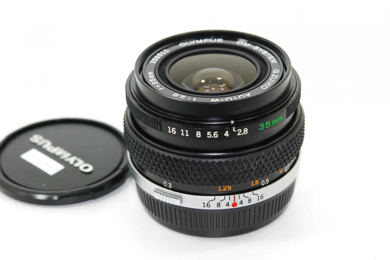 オリンパス G.ZUIKO AUTO-W 35mm F2.8