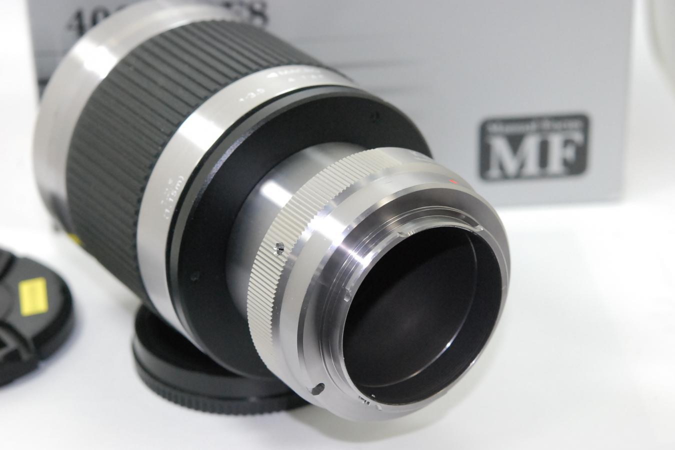 ケンコー MIRROR LENS 400mm F8 モデル:KF-M400S 元箱付 【ソニーEマウントレンズ】