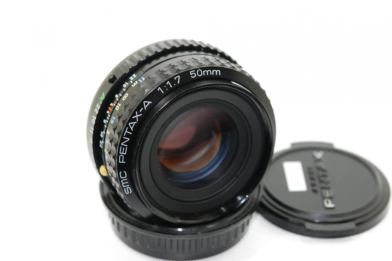 SMC PENTAX-A 50mm F1.7