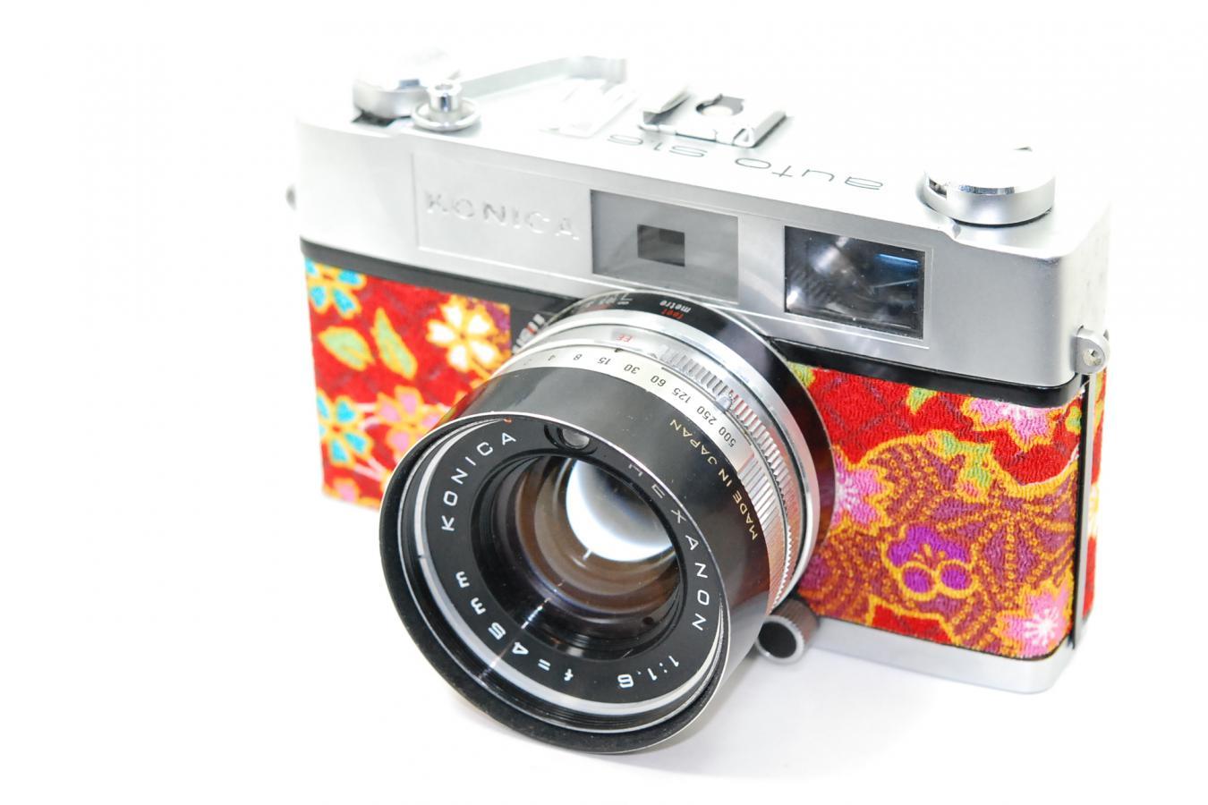 【リメイクカメラ】 KONICA auto S1.6 【HEXANON 45/1.6 レンズ搭載】