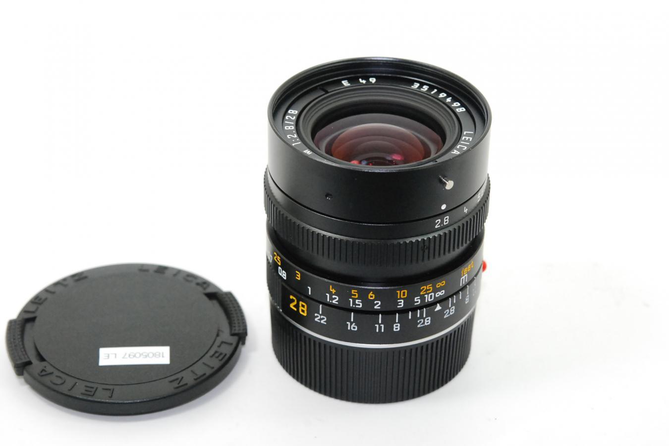 ライカ エルマリートM 28mm F2.8 第3世代
