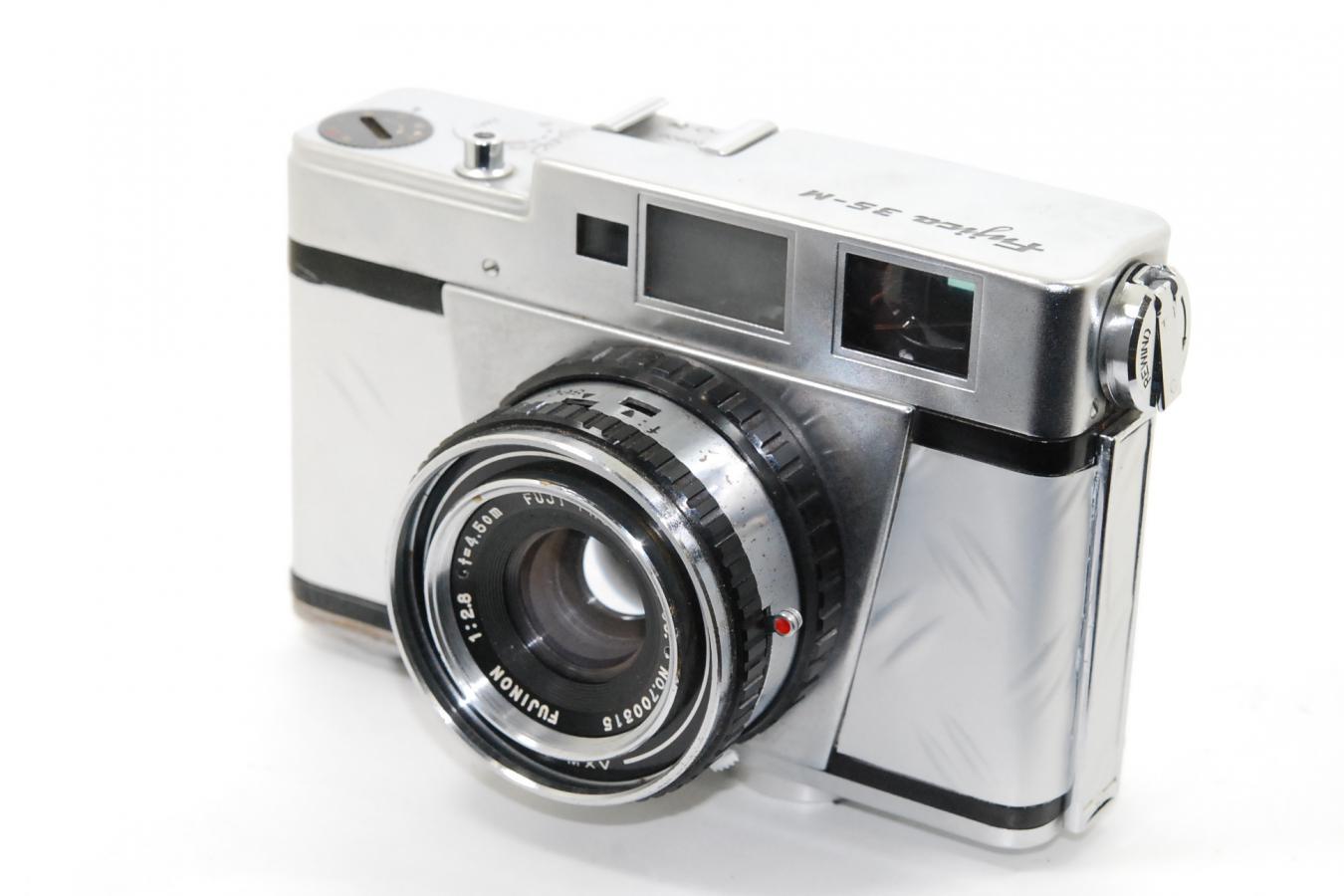 【リメイクカメラ】 Fujica 35-M 【FUJINON 4.5cm F2.8レンズ搭載】