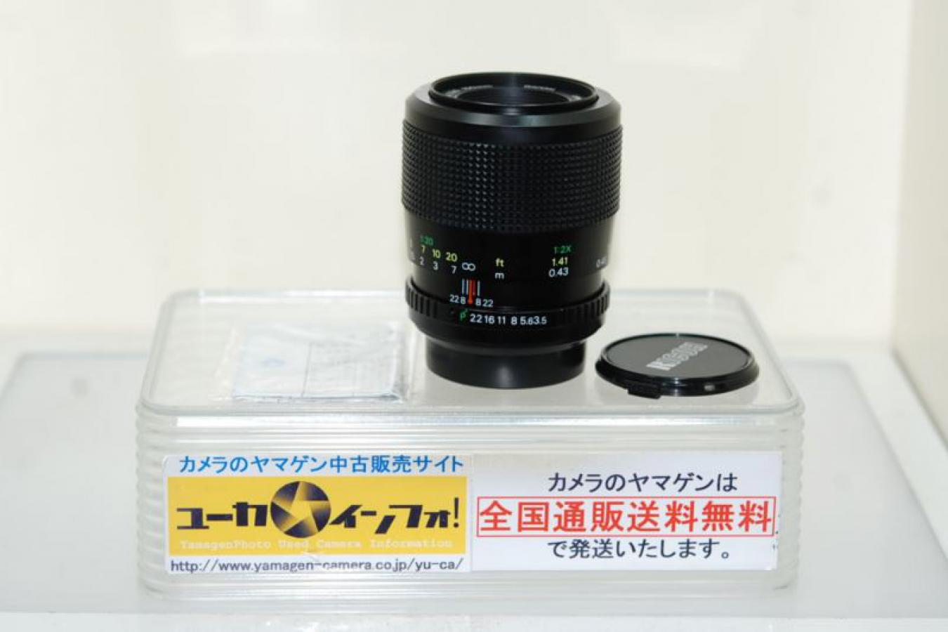 RICOH リケノンP 100mm F3.5マクロ OH済 【ペンタックスKマウントレンズ】