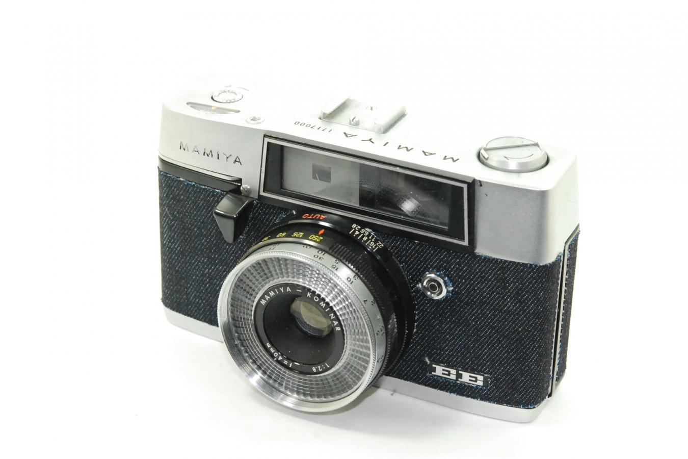 【リメイクカメラ】 MAMIYA EE 【MAMIYA-KOMINAR 40/2.8レンズ搭載】