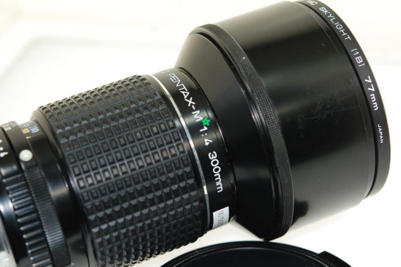 SMC PENTAX-M ☆ 300mm F4 【ケンコー製77mmMCスカイライトフィルター付】