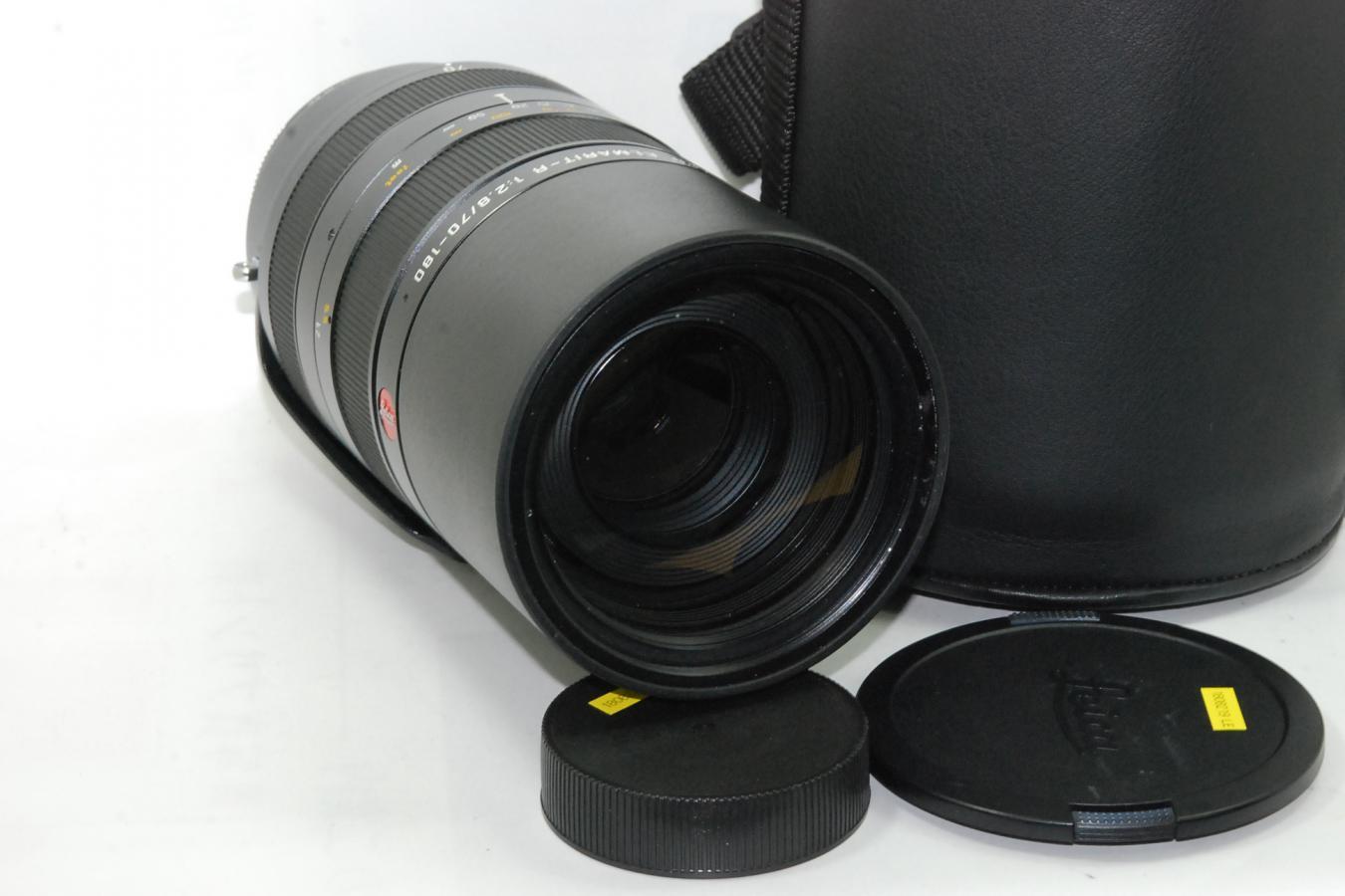 【珍 品】 LEICA VARIO APO ELMARIT-R 70-180mm F2.8 Rカム 【純正専用ケース付】