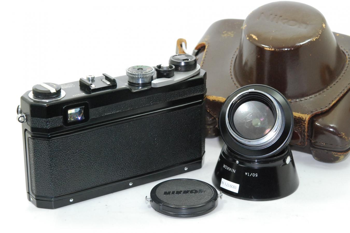 【コレクション向け】 Nikon S3 オリンピック 50/1.4付 【純正ケース、フード付】