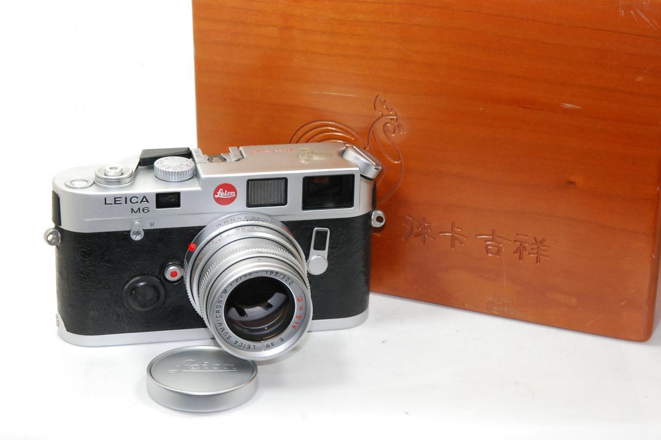【コレクション向け】 ライカ M6 Rooster Limited Edition ズミクロンM 50/2付 【1993年香港シュミット300台限定モデル 専用木箱付】
