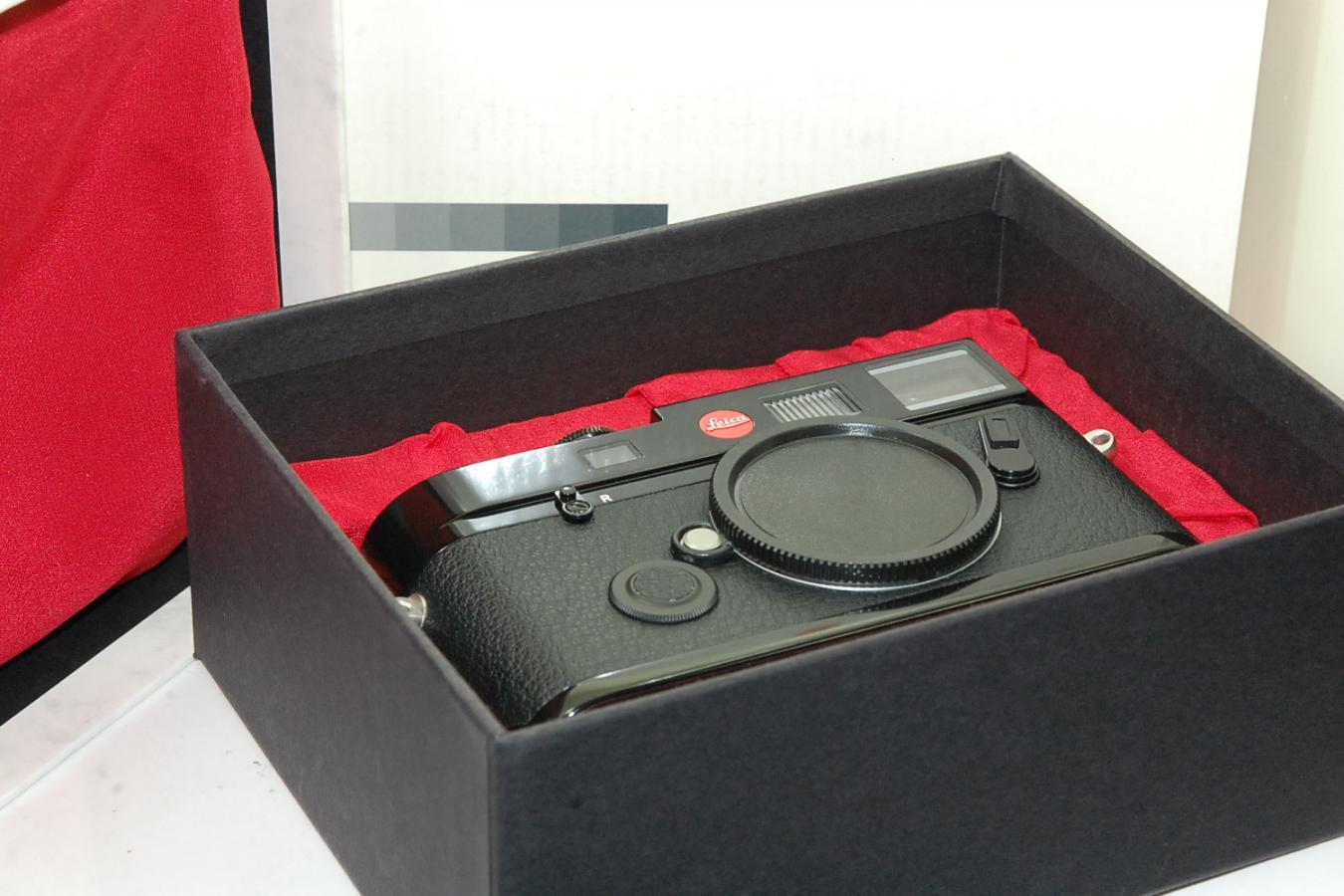 【コレクション向け】 ライカ M6 TTL 0.85 Dragon2000 ブラックペイント 【限定500台 元箱付一式】