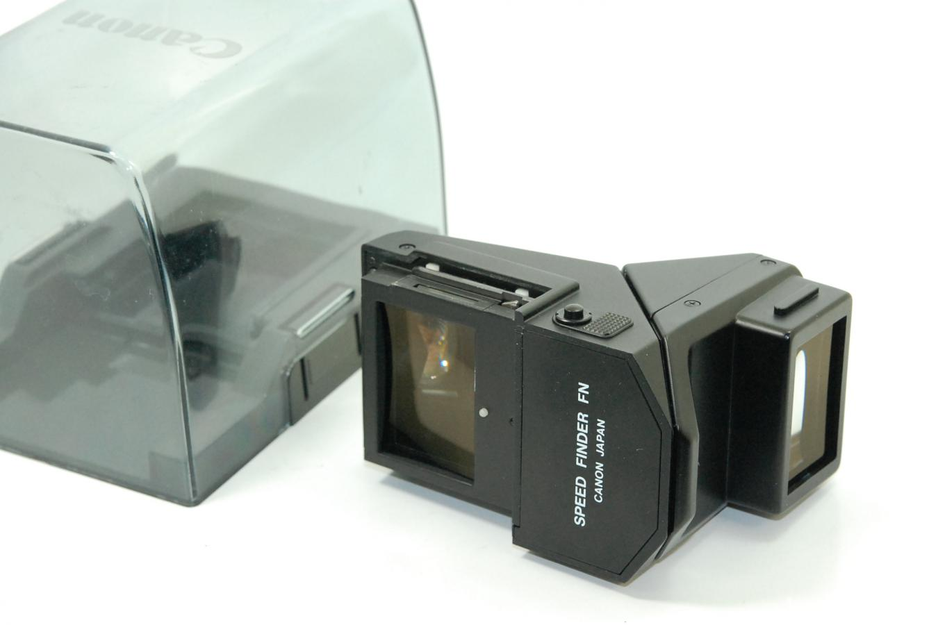 Canon スピードファインダーFN 【キャノン NEW F-1用 純正ケース付】