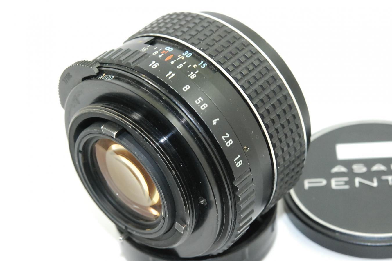 ペンタックス SMC TAKUMAR 55mm F1.8 【カメラ女子に絶大な人気のオールドレンズ M42マウントレンズ】