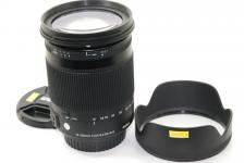 SIGMA Contemporary 18-300mm F3.5-6.3 DC MACRO OS HSM EOS用 【純正フード付】