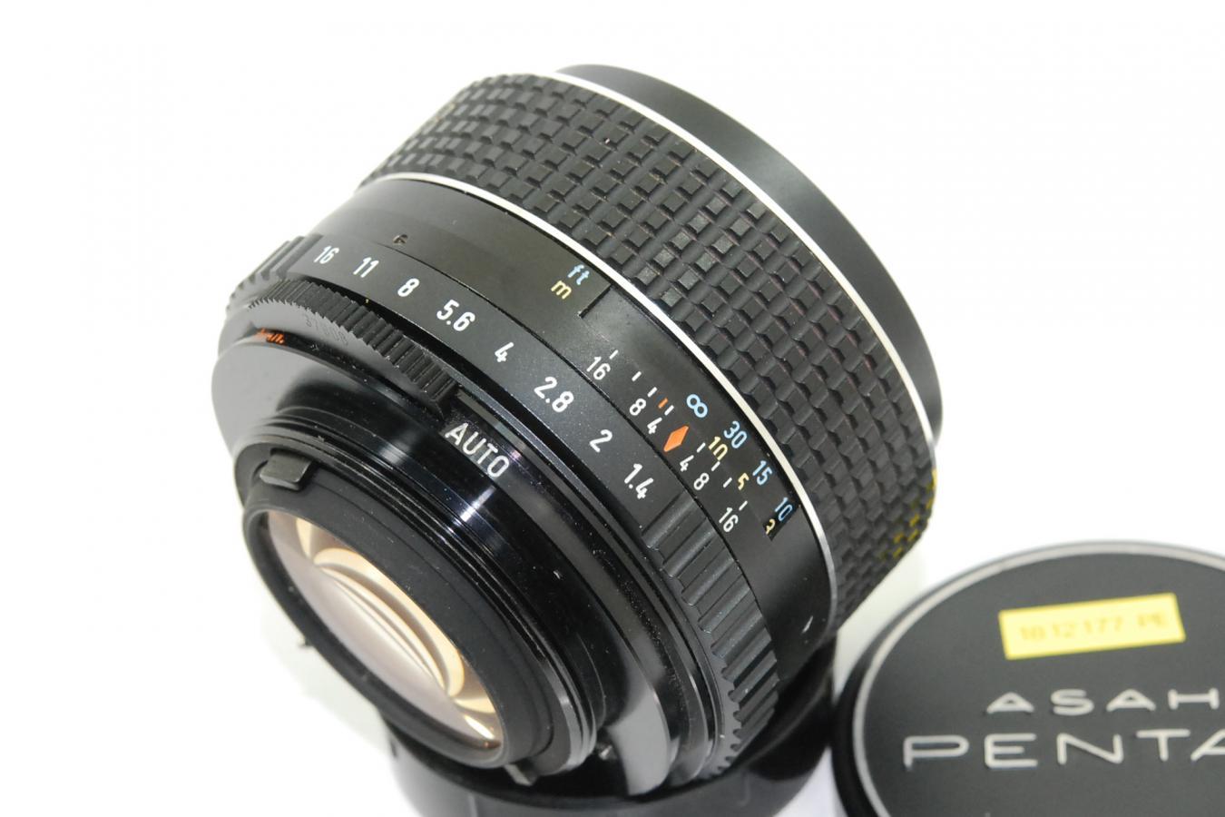 ペンタックス SMC TAKUMAR 50mm F1.4 【カメラ女子に絶大な人気のオールドレンズ M42マウントレンズ】