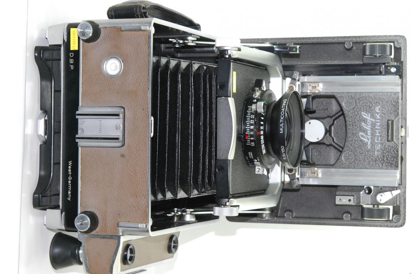 Linfof SUPER TECHINIKA 4×5V型 シュナイダーAPO-SYMMAR150/5.6MC付