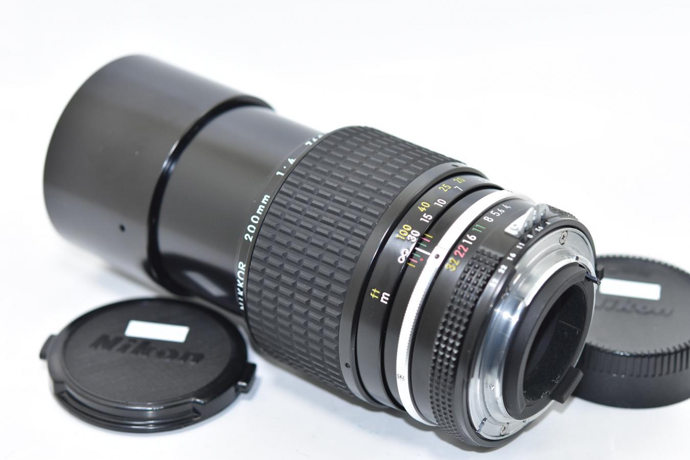 Ai NIKKOR 200mm F4