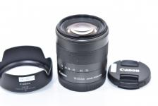 Canon EF-M 18-55mm F3.5-5.6 IS STM 【純正フードEW-54付】