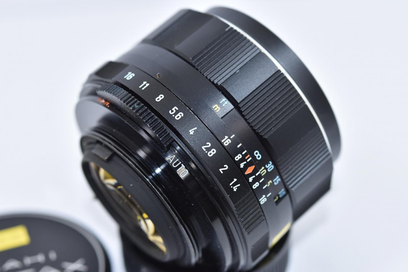 ペンタックス Super-Multi-Coated TAKUMAR 50mm F1.4 【カメラ女子に絶大な人気のオールドレンズ M42マウントレンズ】