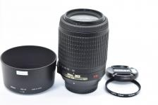 AF-S DX VR NIKKOR 55-200mm F4.5-5.6G IF-ED 【純正フードHB-37、52mmL37cフィルター付】