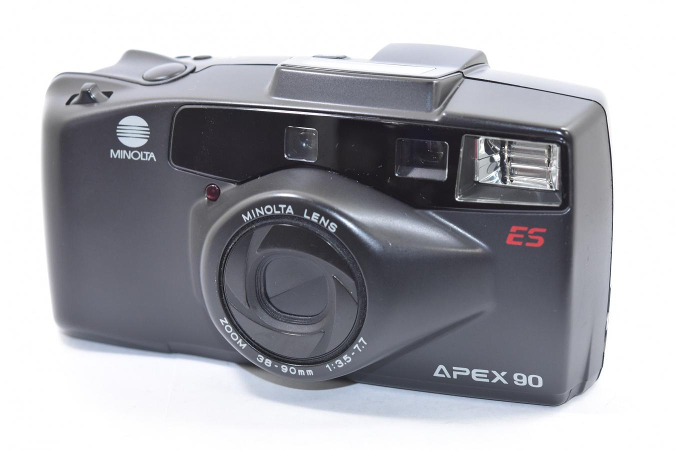 MINOLTA APEX90 【MINOLTA LENS 38-90mm F3.5-7.7 搭載】