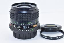 MINOLTA MD W.ROKKOR 35mm F1.8 【ケンコー製49mm MC-1フィルター付】