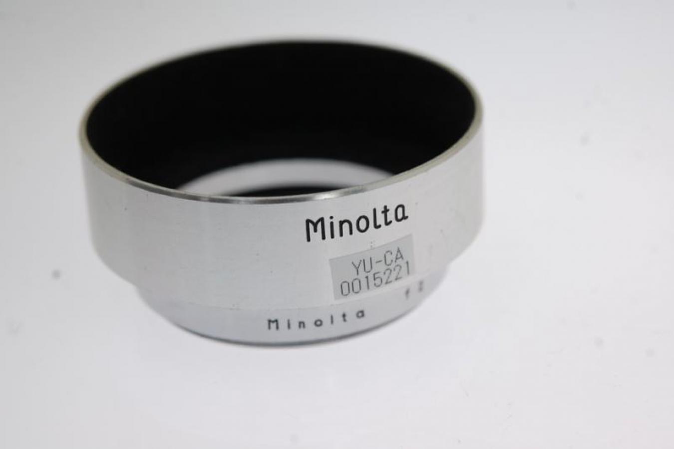 【珍 品】 ミノルタ L50/2用純正メタルフード