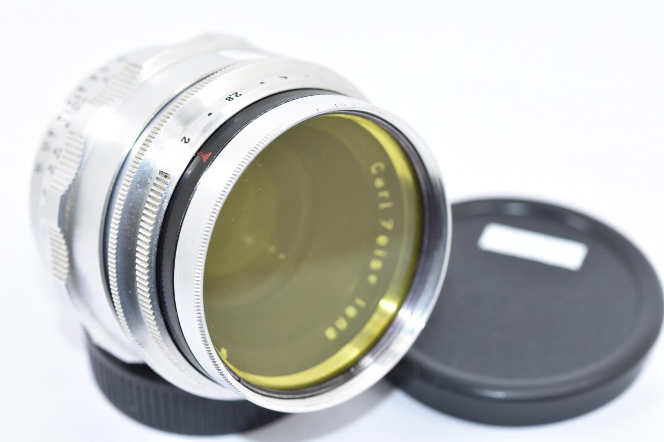 Carl Zeiss Jena Biotar 58mm F2 【イエローフィルター付 カメラ女子に絶大な人気のオールドレンズ M42マウントレンズ】