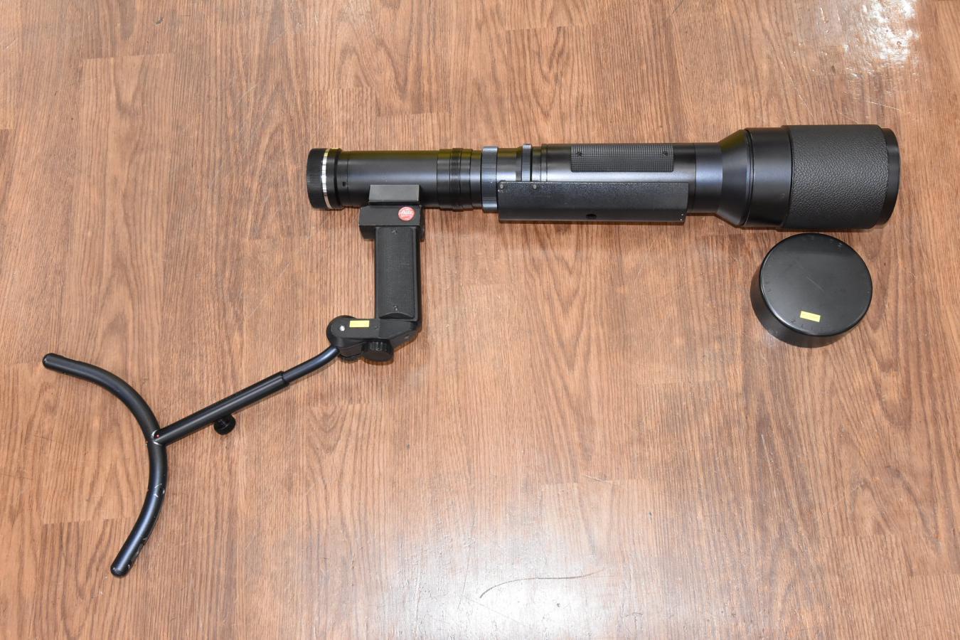【希 少】 ライカ TELYT R 560mm F6.8 【ビゾフレックス用 ショルダーガンストック付】