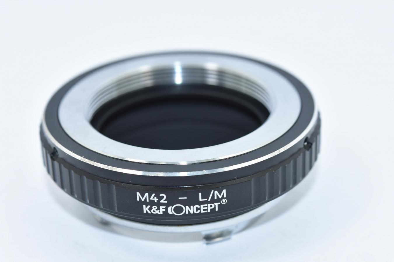 K&F CONCEPT KF-42M 【M42マウント→ライカMマウント変換】