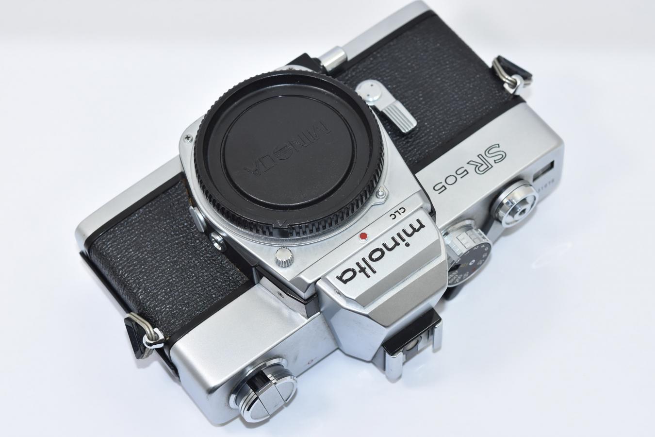 【B級特価品】 minolta SR505 【モルト交換済】