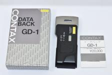 CONTAX DATA BACK GD-1 【CONTAX G1用データバック】