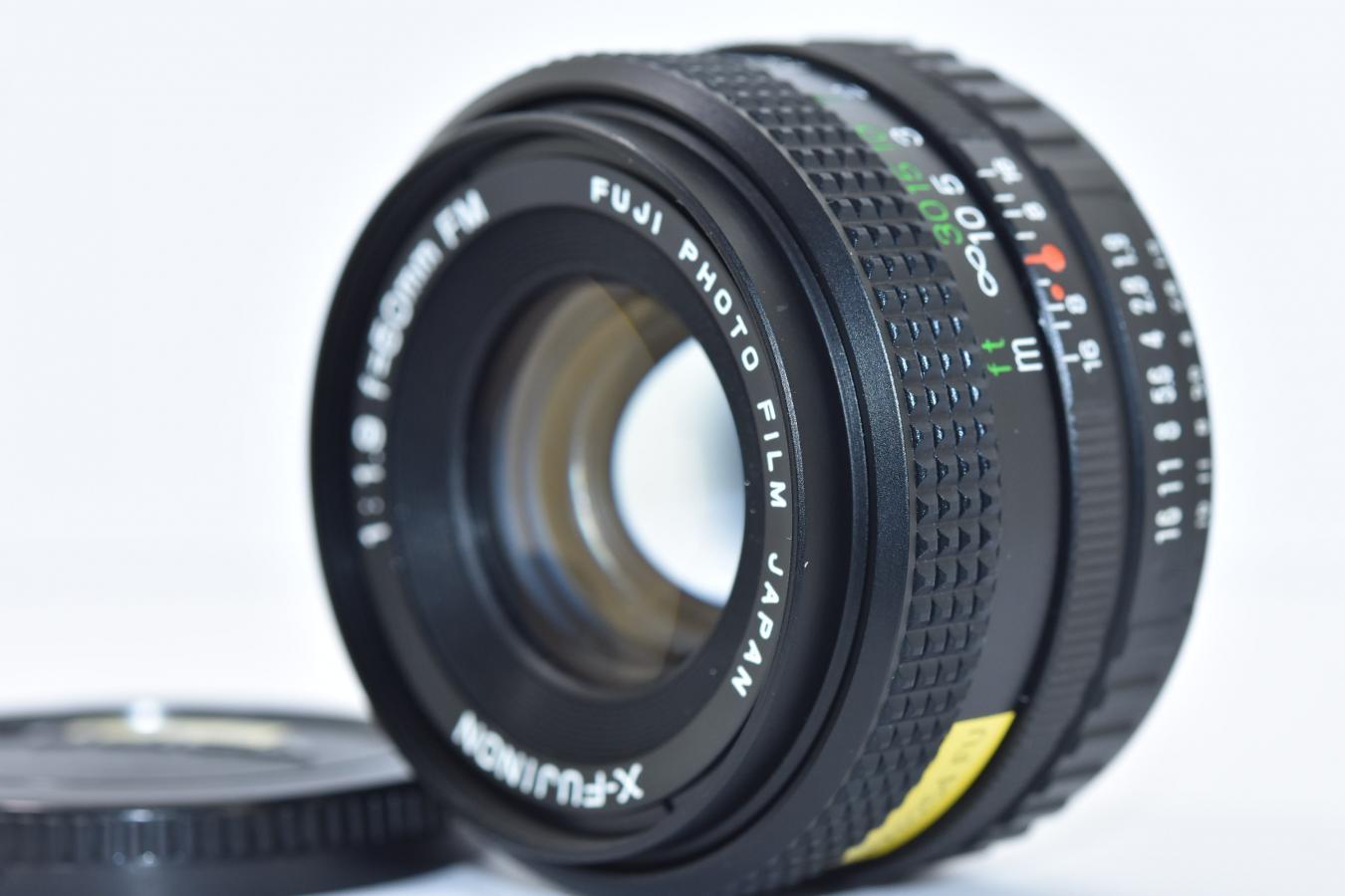 【B級特価品】 FUJIFILM X-FUJINON 50mm F1.9 FM 【AXマウントレンズ】