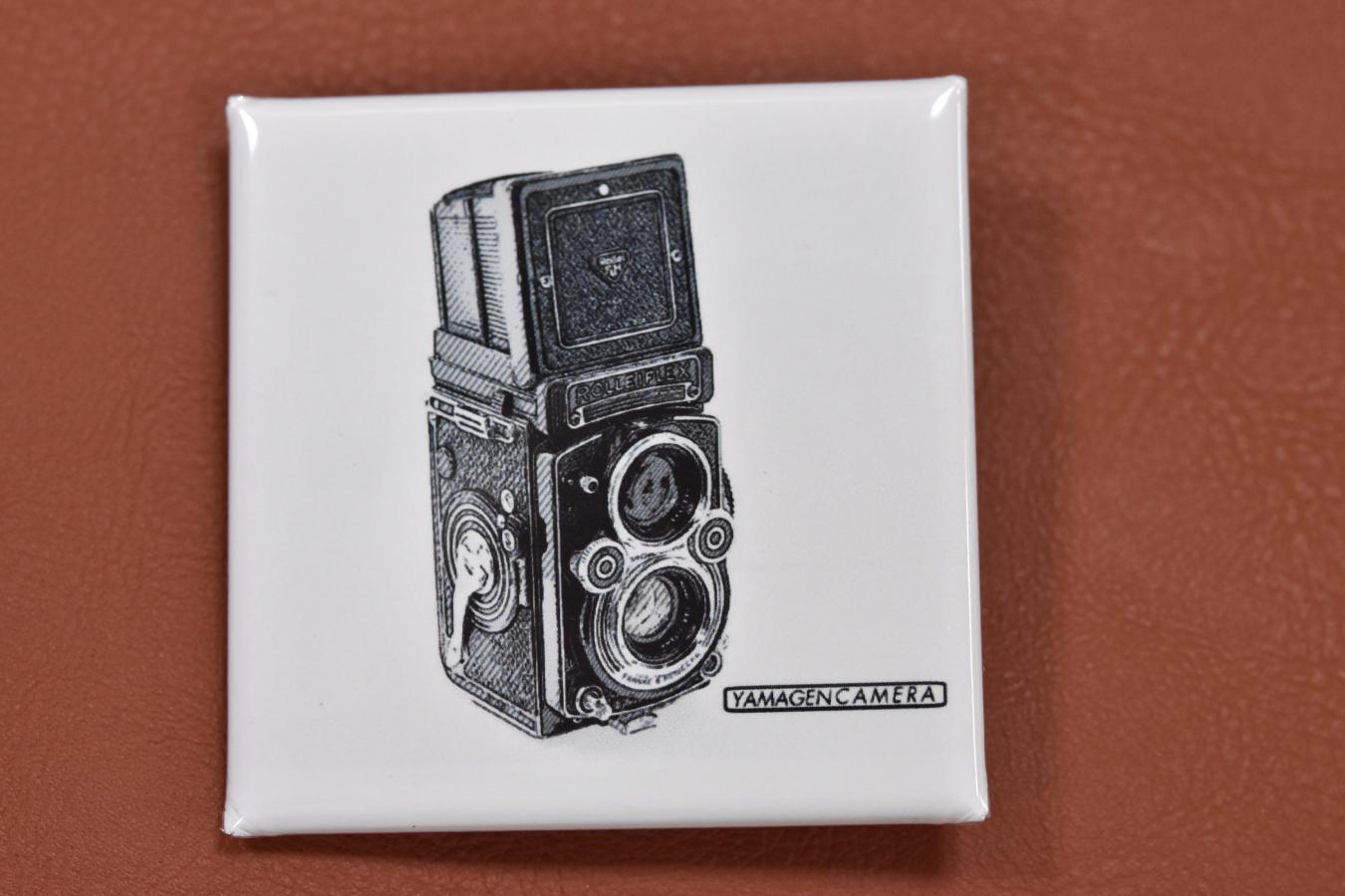 YAMAGEN CAMERA original カメラVer. 【缶バッジ3枚セット】