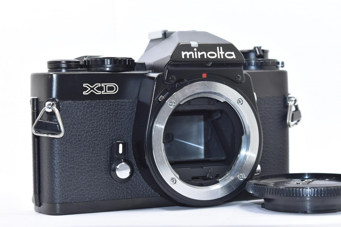 minolta XD ブラック 【モルト交換済】