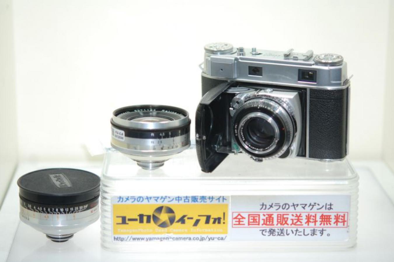 コダック レチナ IIIc 小窓 レンズ3本セット OH済 【クセノン35/4、50/2、80/4付】