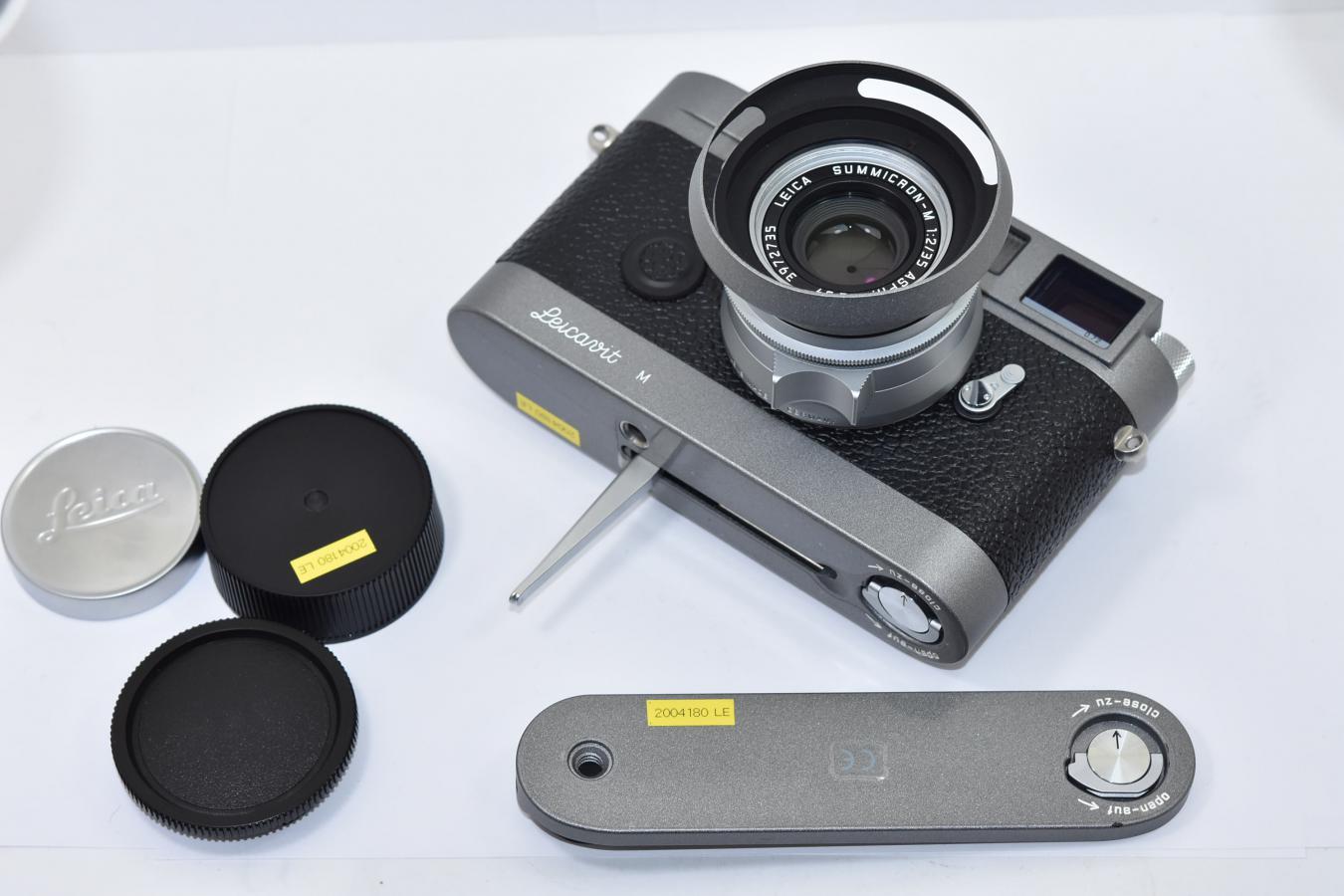 【コレクション向け 珍 品】 LEICA MP 0.72 Anthracite Leicavit M SUMMICRON-M 35/2 ASPH.  Anthracite Set 【元箱付一式】