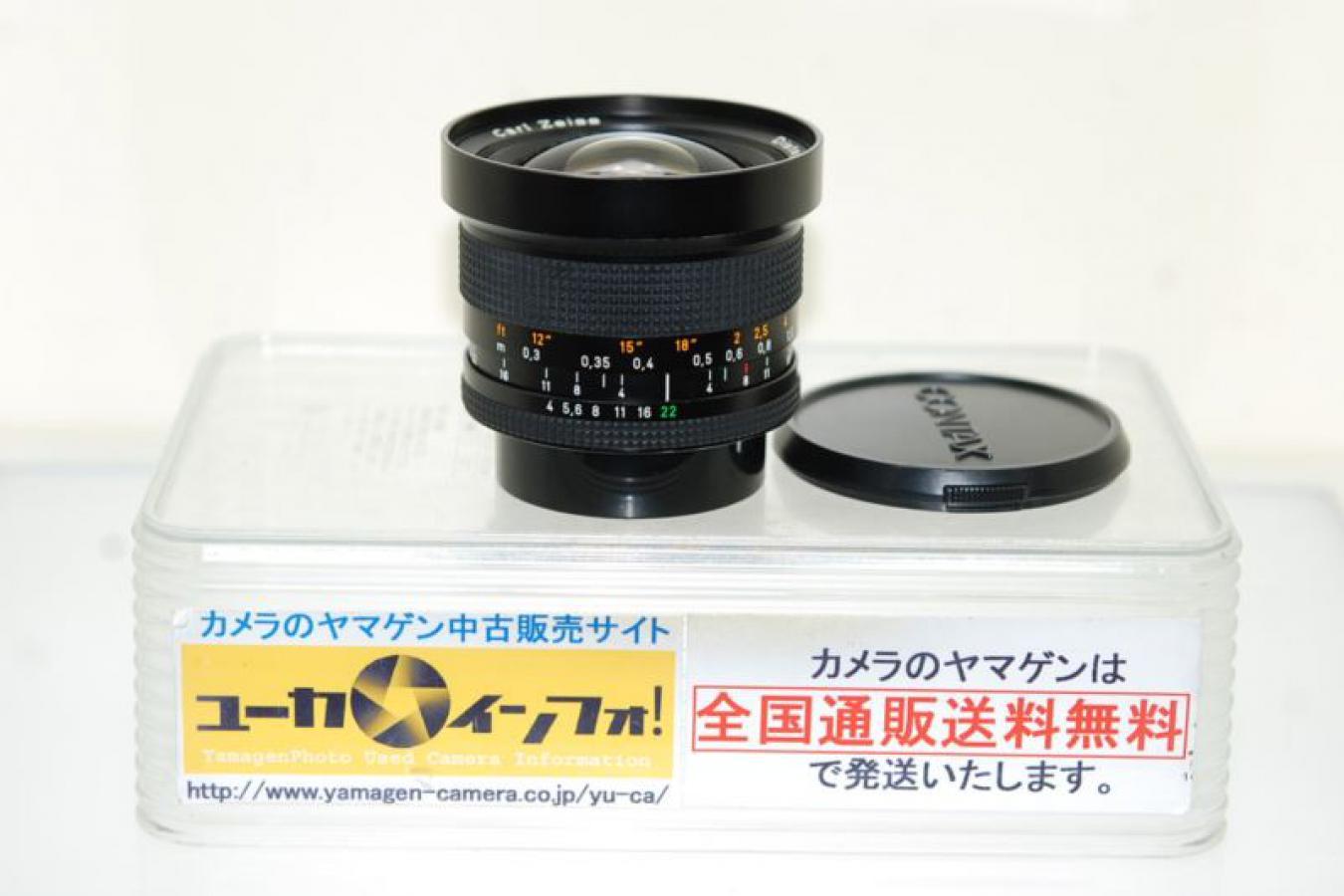 コンタックス ディスタゴン T* 18mm F4 MM