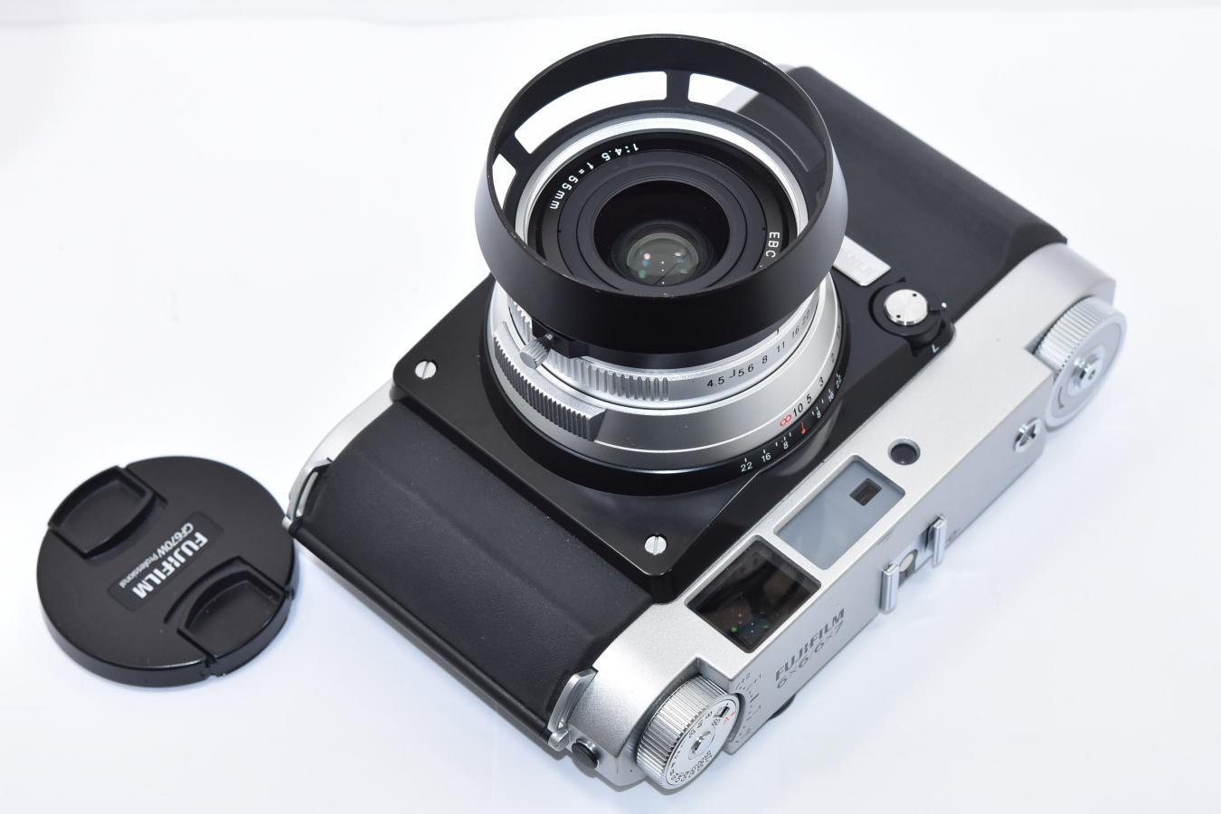 【希 少】 FUJIFILM GF670W Professional 【純正フード、元箱付一式】