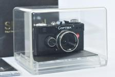 【未使用 希 少】 SHARAN CONTAX I Model 【元箱付一式】 MegaHouse Mini Classic Camera Collection