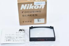 Nikon FOCUSING SCREEN E型 【Nikon F、F2用】