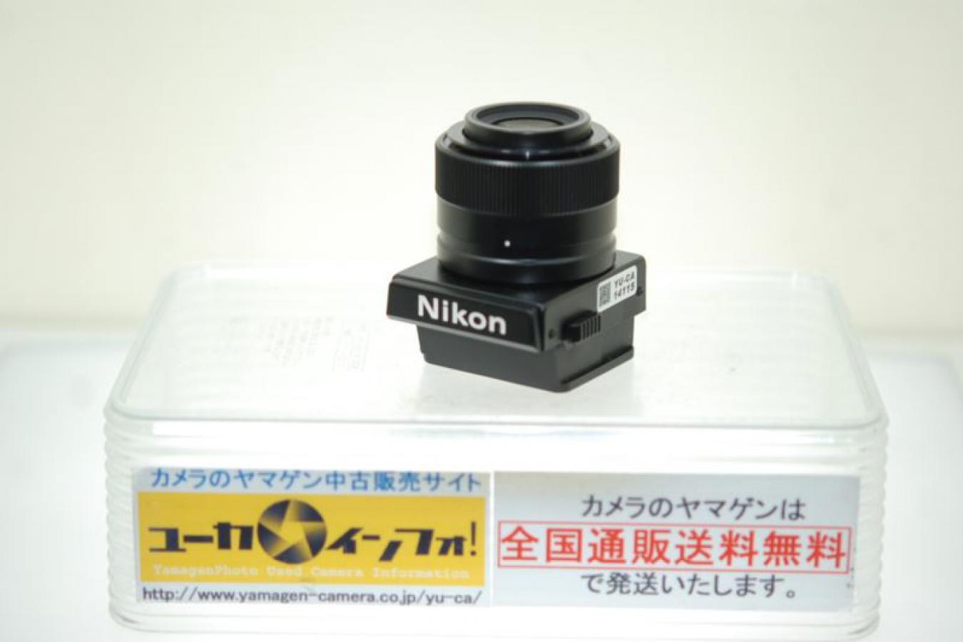 ニコン F3用高倍率ファインダーDW-4