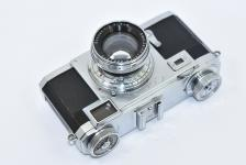 CONTAX IIa ブラックダイヤル Carl Zeiss Jena Sonnar 5cm F2付