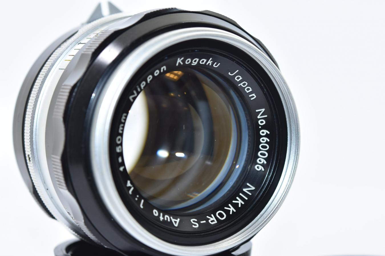 日本光学 NIKKOR-S Auto 50mm F1.4 【シリアルナンバー珍しい #660066】