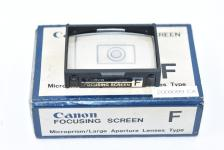 【希 少】 Canon FOCUSING SCREEN F型 【Canon F-1用】