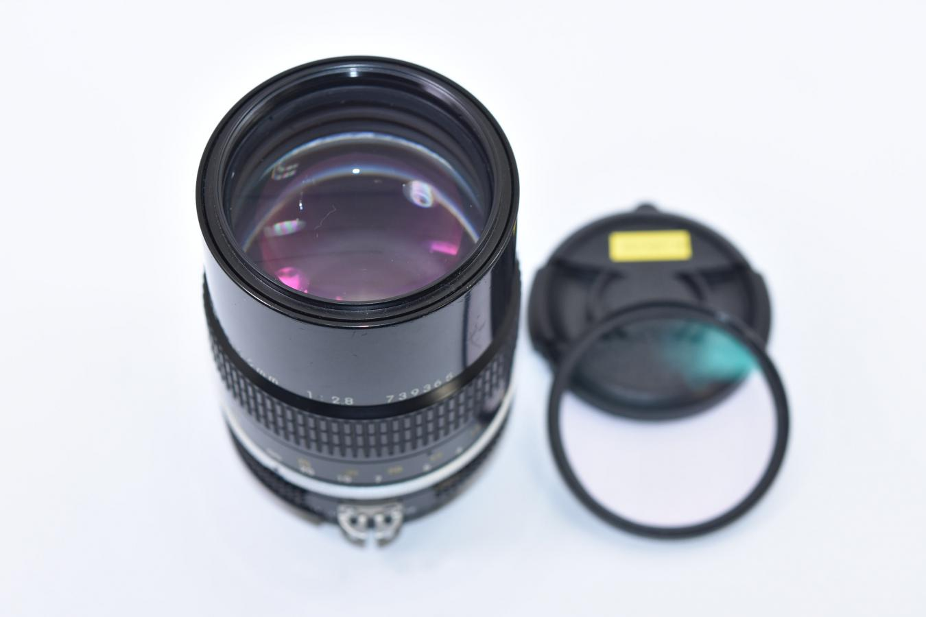 NEW NIKKOR 135mm F2.8 Ai改 【純正52mmL1Bcフィルター付】