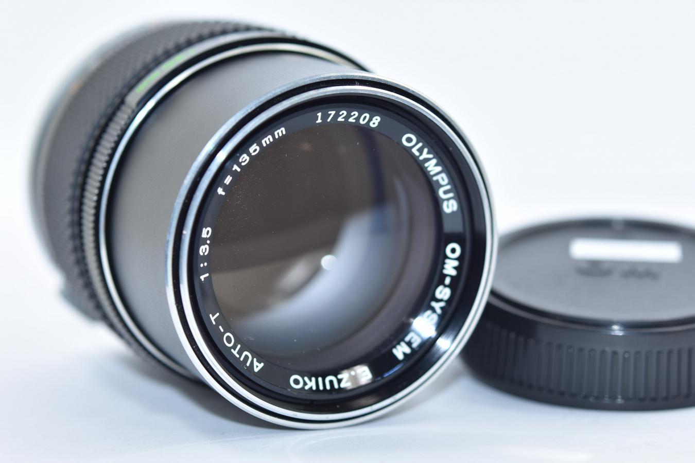 【B級特価品】OLYMPUS E.ZUIKO AUTO-T 135mm F3.5