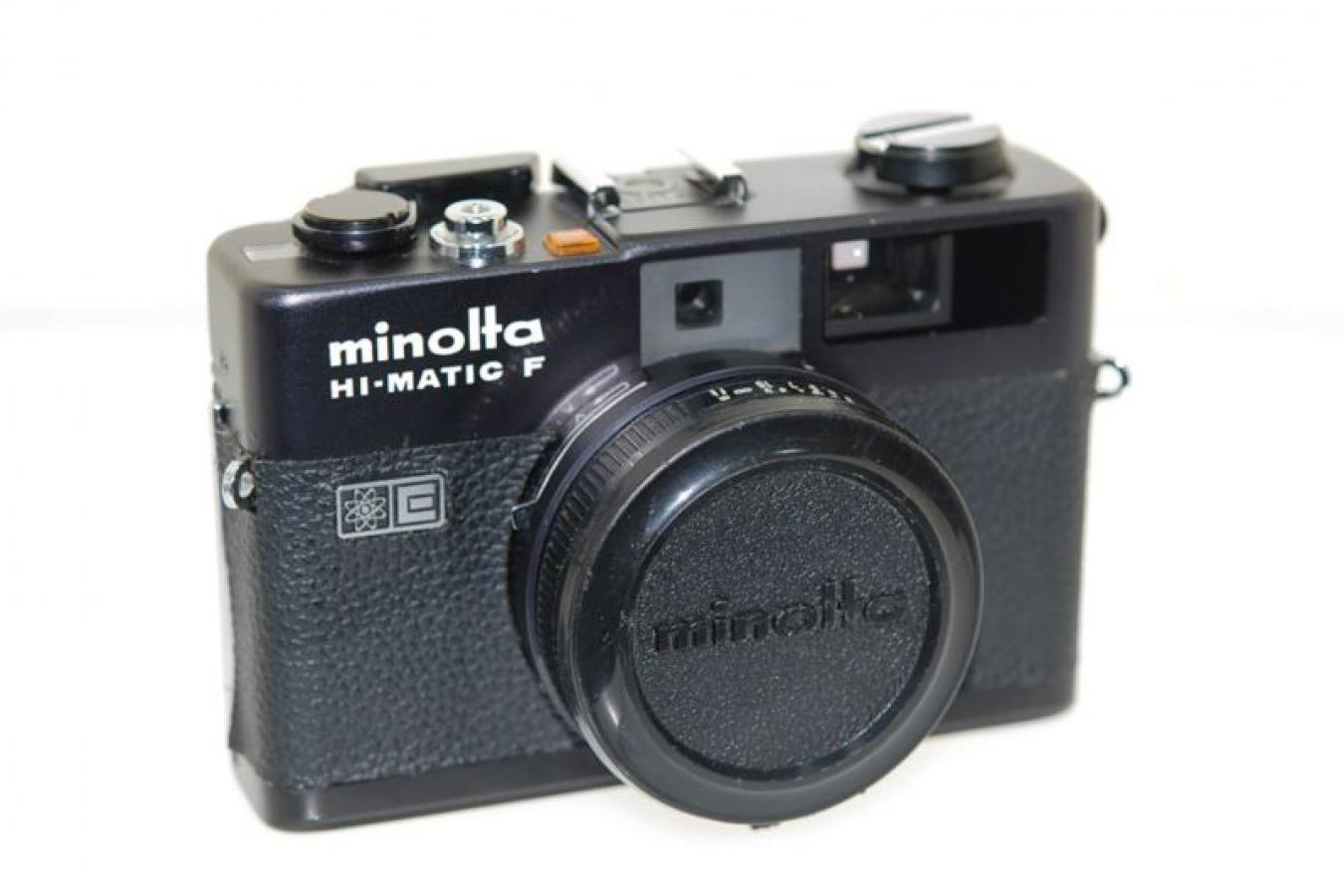 ミノルタ HI-MATIC F ブラック 【ROKKOR 38/2.7レンズ搭載】